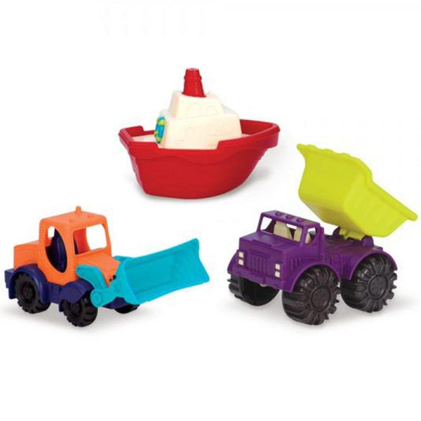 B.Toys BX1528Z Mini Vehicle 3 Piece Set >18Mth