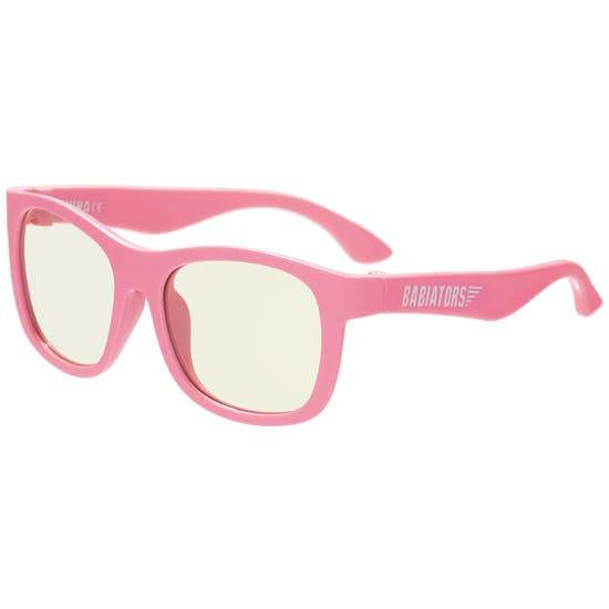 Babiators Blue Light Glasses 6-8yr BSS-004- Think Pink