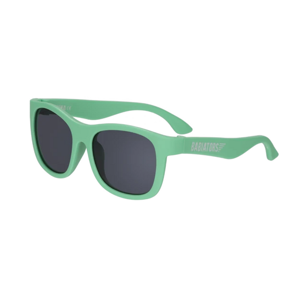 Babiators Navigators Sunglasses Classic 3-5 Yr NAV 024- Tropical Green