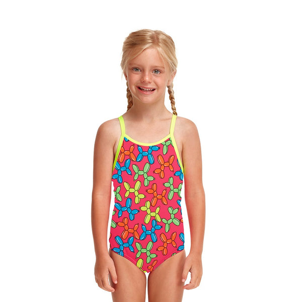 Funkita Toddler Girls Printed One Piece FG01T- Doggy Disco