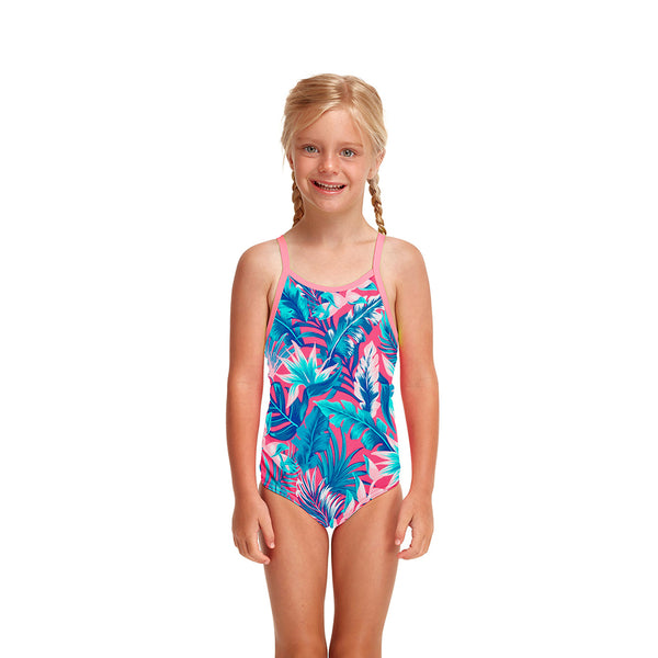 Funkita Toddler Girls Eco One Piece FKS022G- Tropfest