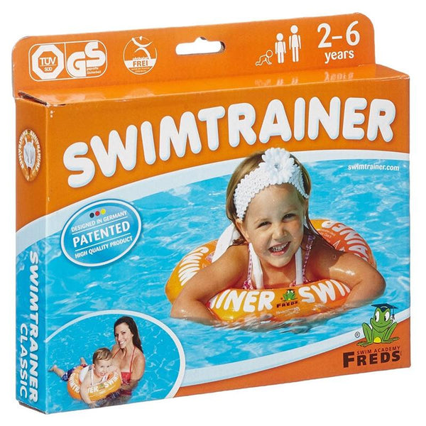 Freds Swim Academy STC002 Swimtrainer 2-6 yrs Classic Orange
