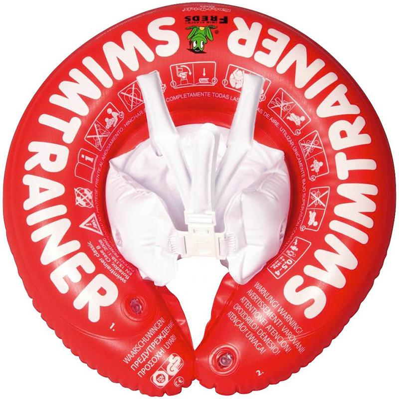Freds Swim Academy Swimtrainer 3 mth - 4 yrs STC001- Classic Red