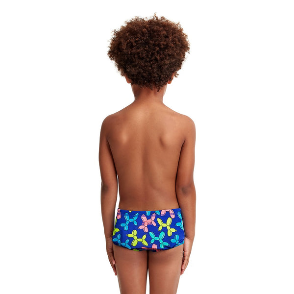 Funky Trunks Toddler Boys Printed Trunks FT32T- Balloon Dog