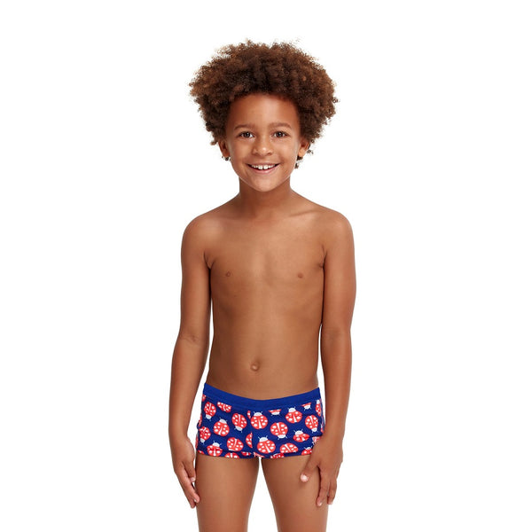 Funky Trunks Toddler Boys Square Trunk FT36T- Been Bugged