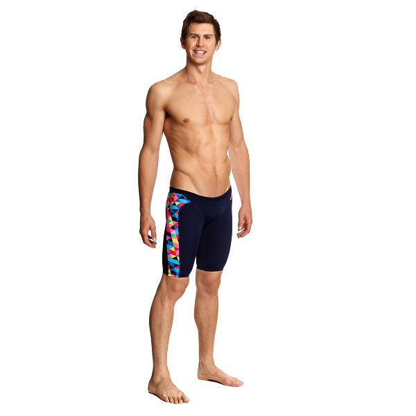 Funky Trunks Men's Training Jammer FT37M- Colour Card