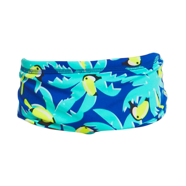 Funky Trunks Jr. Boy Eco Trunk FTS002B- Bird Brain