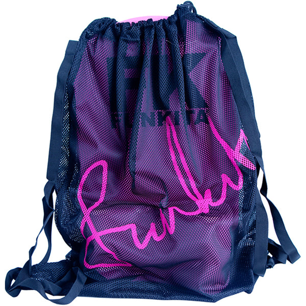 Funkita FKG010A Mesh Gear Bag- Still Black