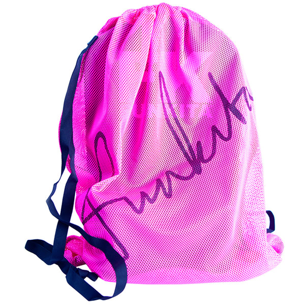Funkita FKG010A Mesh Gear Bag- Still Pink