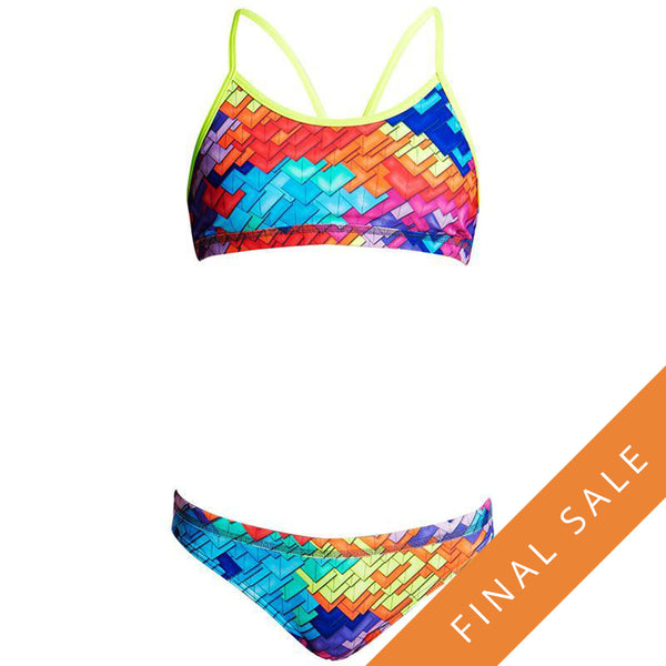 Funkita Girls Racerback 2Pc D-P FS02G- Layer Cake