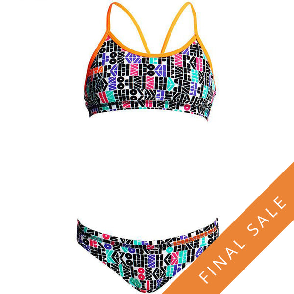 Funkita Girls Racerback 2Pc FS02G- Secret Code