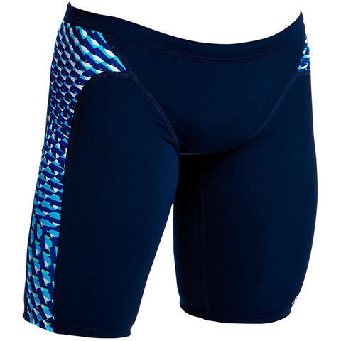 Funky Trunks FT37M Men's Training Jammer- Vapour Scale