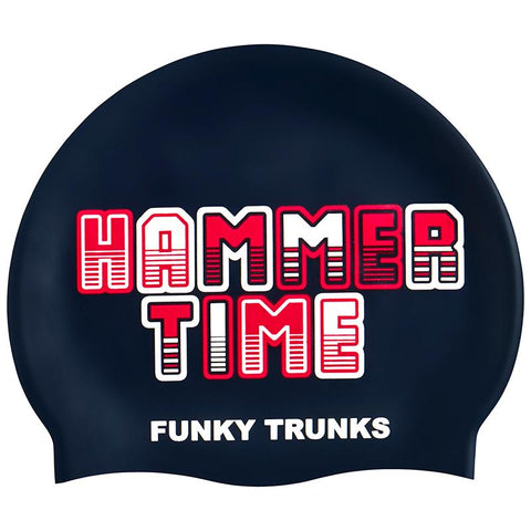 Funky Trunks FT99  Swim Cap- Hammer Time