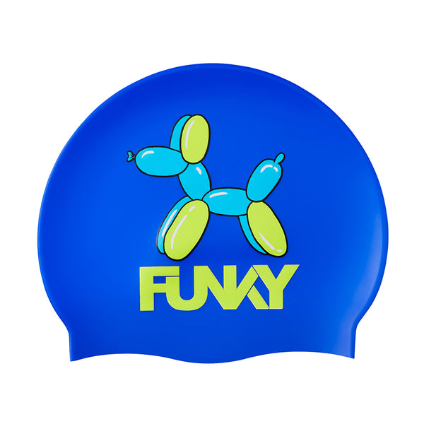 Funky Silicone Swimming Cap FYG017N- Balloon Dog