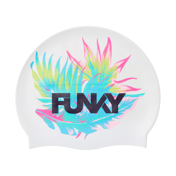 Funky Silicone Swimming Cap FYG017N- Palm Off