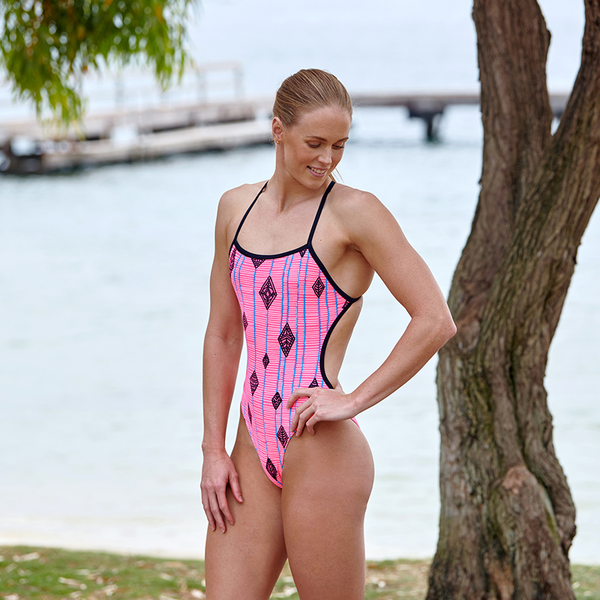 Funkita FKS010L Women's Twisted One Piece- Flying High