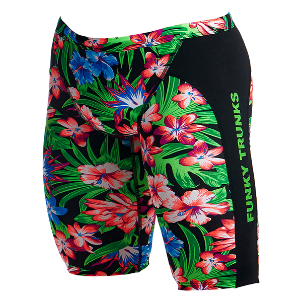 Funky Trunks Men's Training Jammer FT37M- Tropic Rocket