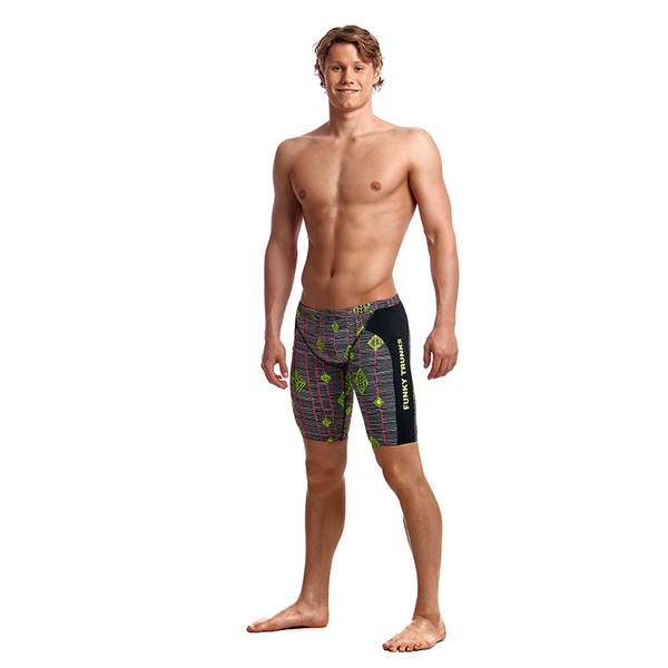 Funky Trunks Men's Training Jammer FT37M- Kite Runner