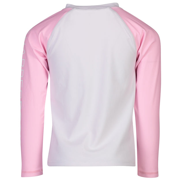 Snapper Rock Girls Rash Top Long Sleeves G20060L- Solids