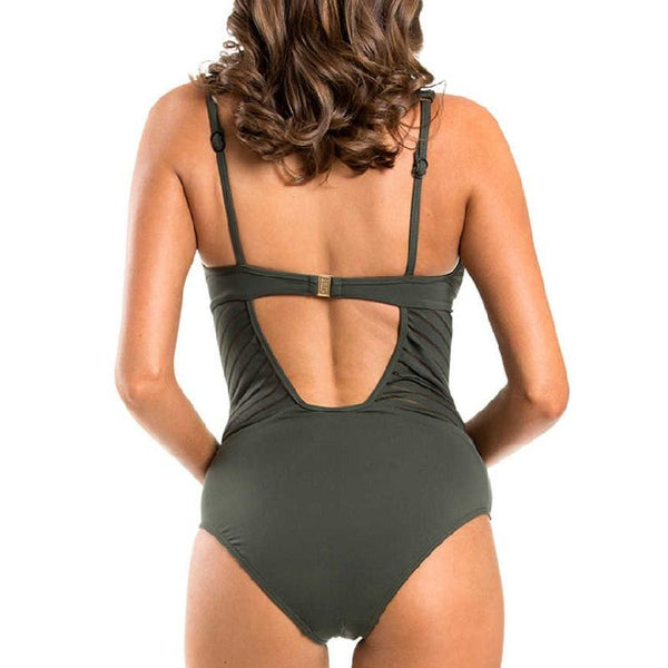 Jets J10542D_DD Tab Plunge One Piece- Parallels