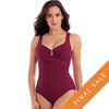 Miraclesuit Escape One Piece 6516666- Must Haves Pompei Red