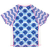 Platypus PB26FSI Fitted Sunshirt Short Sleeve- Inky Bloom