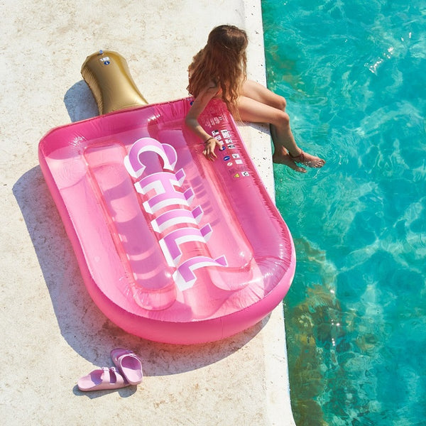 Sunnylife Luxe Lie-On Float Chill Ice L. S0LLIECY