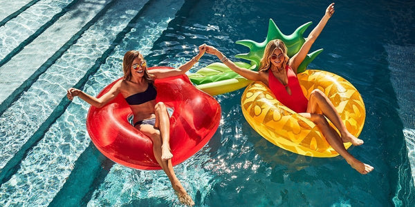 Sunnylife Luxe Pool Ring S9LPOLPI- Pineapple