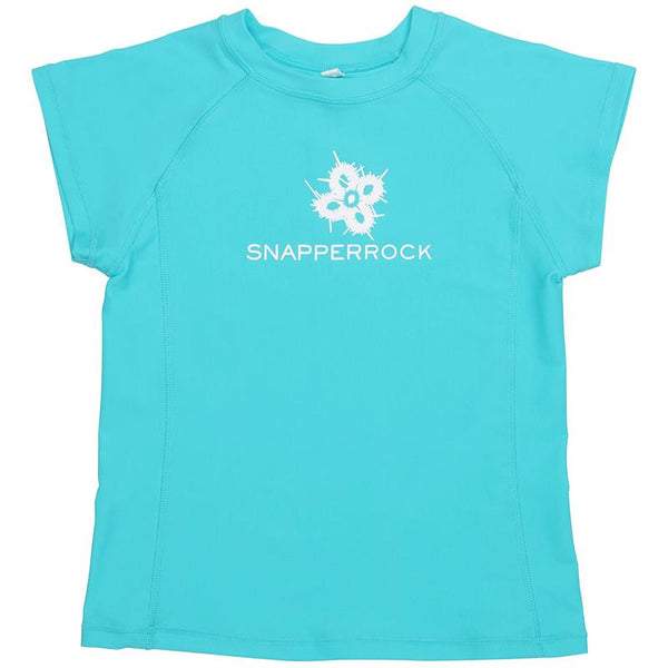 Snapper Rock 148 Short Sleeve Top - Aqua