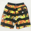 Snapper Rock 983 Boardies Citron Greyunge Stripe