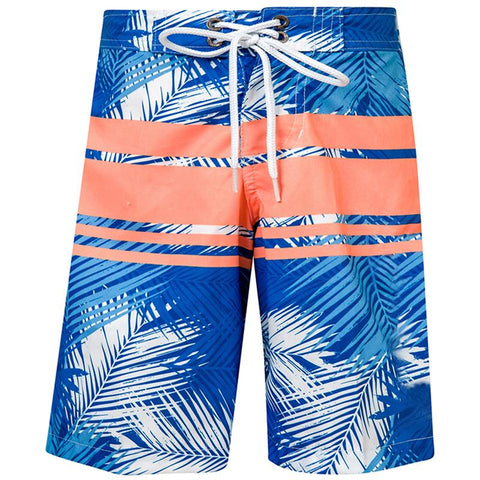 Snapper Rock B90045T Boys True Boardie- Tropical Neon Stripe