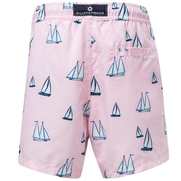 Snapper Rock B90064NC Sail Away Boardies- Pink