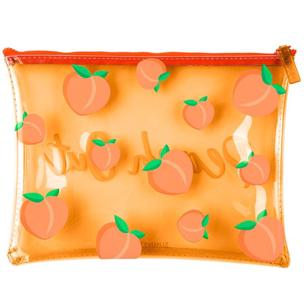 Sunnylife S90POUPE See Thru Pouch- Peach