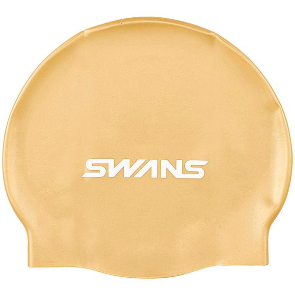 Swans SA-7 Adult Silicone Cap - Gold (GOL 020)