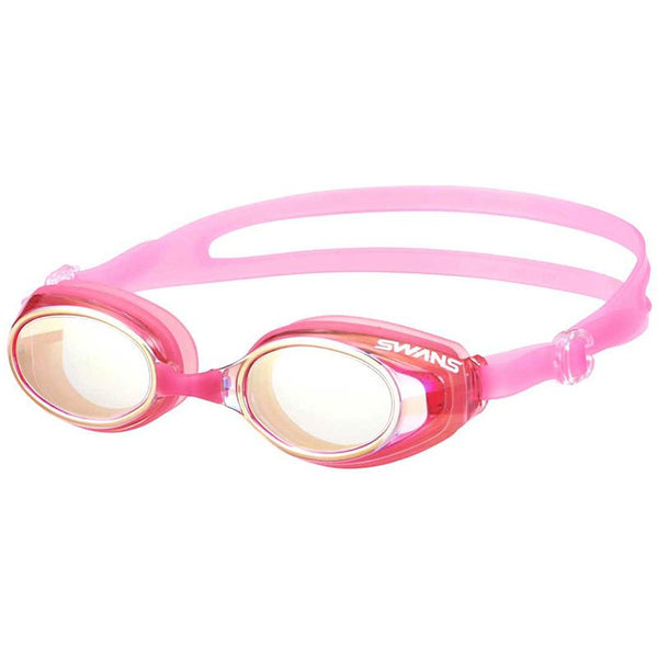 Swans Junior Mirror Goggles SJ-23M- Pink/ Flash Yellow