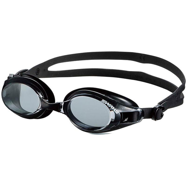 Swans SW-32 Adult Fitness Goggles - Smoke/Black (SMBK 301)