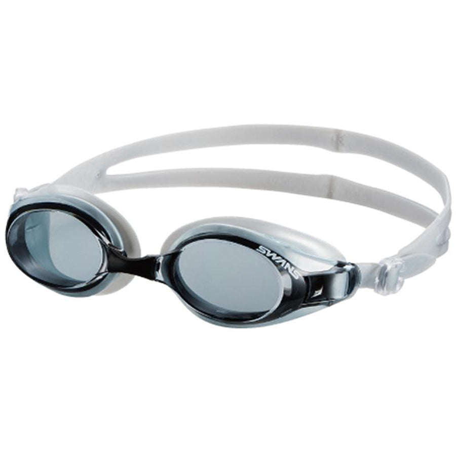 Swans SW-32 Adult Fitness Goggles - Smoke/ Silver (401)