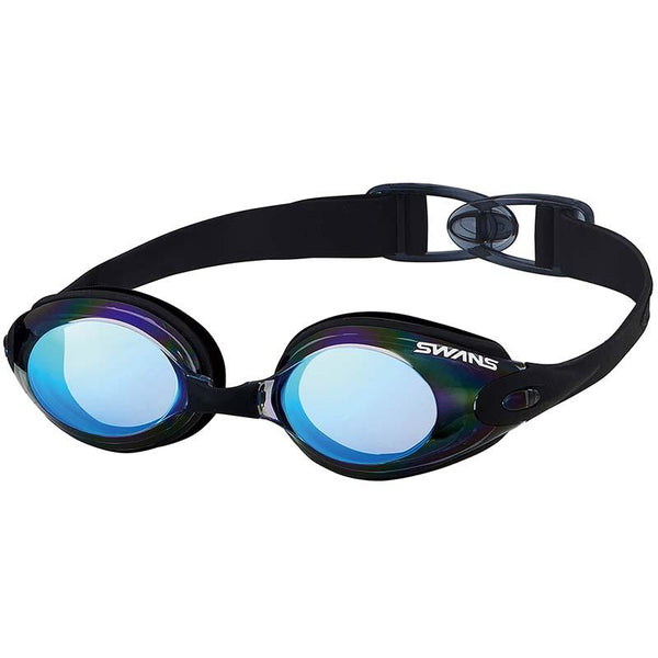Swans SWB-1M Fitness Mirror Goggles-Smoke/ Flash Blue (SMBL 321)