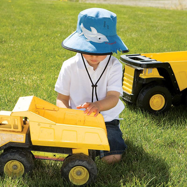 Wallaroo Hats Shark Kids' Sun Protective Hat
