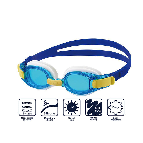 Swans Junior Goggles SJ-8N- Sky Blue