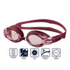 Swans SW-34 Adult Fitness Goggles - Pink/Wine (253)