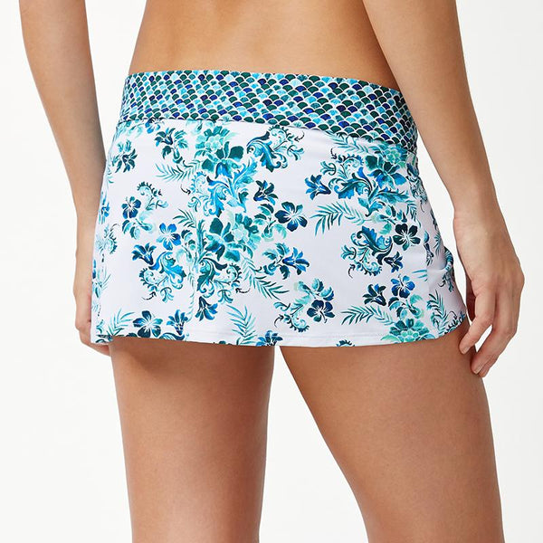 Tommy Bahama Skirted Hipster Bottom TSW90207B- Floral Isles