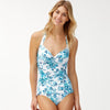 Tommy Bahama TSW90211P Halter One-Piece