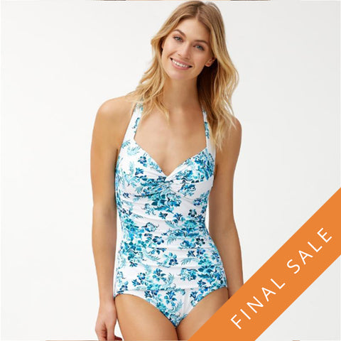Tommy Bahama Halter One-Piece TSW90211P - Floral Isles