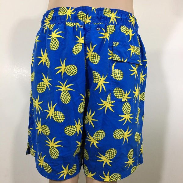 Tom & Teddy Mens Turtle Swim Shorts TURRB- Underwater RO Blue