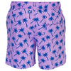 Tom and Teddy PALLB-J Palms Swim Shorts-Lavender & Blue
