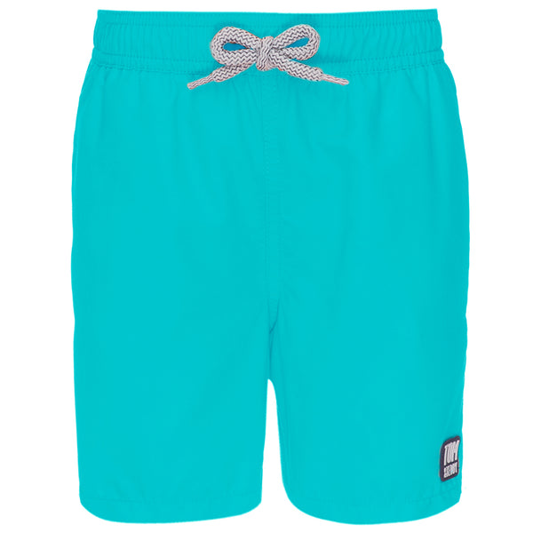 Tom & Teddy SOLPB Solid Swim Shorts- Pool Blue