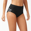 Tommy Bahama Wide Band High Waisted Bottom TSW81022B- IslandActive(R) Solid & Stripes