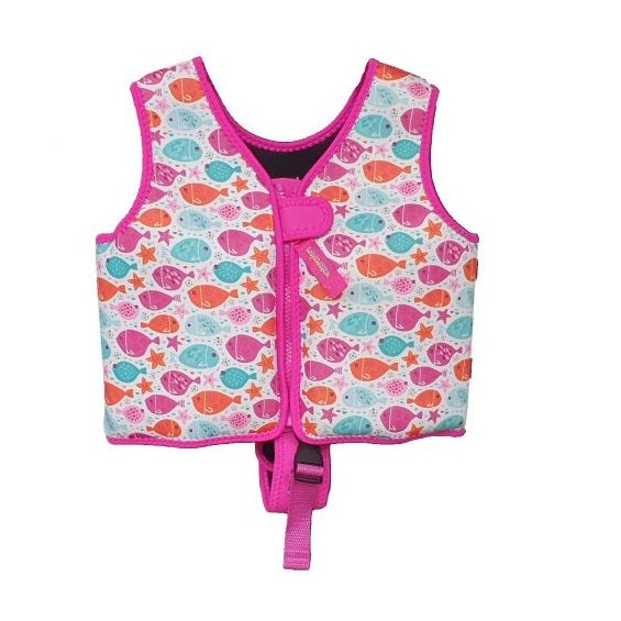 Watercolors Swim Trainer Vest WA120-04- Pink