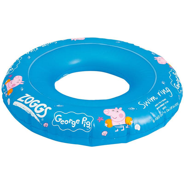 Zoggs Junior Swim Ring Peppa Pig Blue <15kg Z382145
